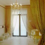Дизайн штор для ванной, оформление окон в помещениях, выезд дизайнера на объект для замеров и ознакомления с интерьером, профессиональный пошив. фото