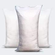 Мешок полипропиленовый и ламинированный с/лого-белый арт. 001-168 фото