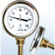 Термометры биметаллические ТБ стандартное исполнение фото