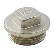Заглушка никелированная FADO 1/2 H фото