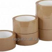 Скотч упаковочный коричневый фото