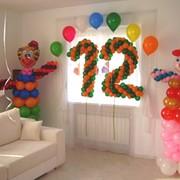 Оформление воздушными шарами и фигурами из воздушных шаров детских праздников. фото