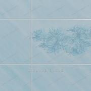 Панель листовая «Eucatex», голубая лилия, плитка 15х20