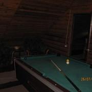 Русская баня, в Житомир. Бильярдная комната, огороженная территория, парковка для авто фото