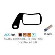 Колодка дисковая Ashima AD0205-SM-S w/screw фото