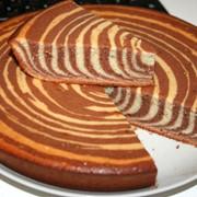 Пирог «ЗЕБРА» фото