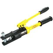 Пресс гидравлический предназначен для опрессовки кабельных наконечников с помощью сменных матриц с 10-120 мм2. фото