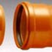 Труба канализационная ПВХ для наружной канализации фото