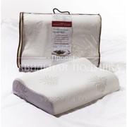 Подушка ортопедической формы для взрослых из пенонаполнителя с эффектом «памяти» «Милава» фото