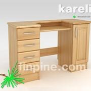Макияжный столик KARELIA с двумя тумбами фото