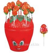 Карамель Strawberry клубничка в клубнике, 6*100 14 гр. фото