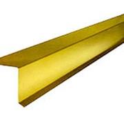 Ветровая планка ВП-250 3м Желтый RAL1018 фото