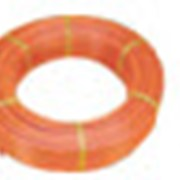 Трубы пластиковые с кислородонепроницаемой поверхностью (в бухтах). фото