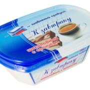 Пастообразный плавленый продукт в пластиковом контейнере К завтраку шоколадный с арахисом фото