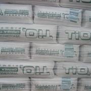 Диоксид титана, пигменты, алюминий хлористый, смола ПВХ, сера техническая газовая/комовая и др. фото