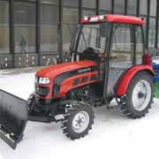 Трактор FT-254 (Отвал 1,8 м, щётка 1,5 м) 4х4, 25 л.с. фото
