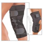 Ортопедический фиксатор ортез на колено с шарниром и подушечкой на колено для предотвращения гиперэкстензии из материала Air-X 6760 Genucare AirX HyperX фото