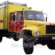 Передвижная автолаборатория на базе ГАЗ-33081 со сдвоенной пятиместной кабиной длиннобазовый , ГАЗ-33081, ГАЗ-3307, ГАЗ-3309. фото