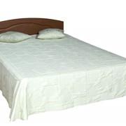 Кровать двухспальная со спинкой МДФ КР-11М 1440х2000х650