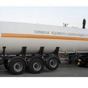 Автомобильная цистерна для перевозки жидкого аммиака 35 куб.м. фото