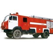 Автоцистерна пожарная АЦ-5-40 (шасси КАМАЗ-43253 4х2) фото