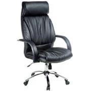 Офисное кресло руководителя №3 LK-13 Pl в коже фото