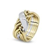 Золотое кольцо для настоящих мужчин от Wickerring фото