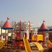 Устройство детских спортивных площадок фото