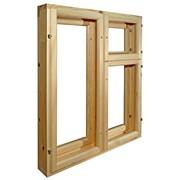 Окна деревянные в ассортименте фото