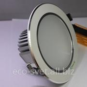 Встроенный светильник с радиатором 5Вт декорный фото