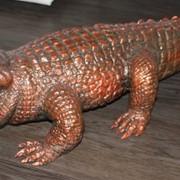 Продается скульптура крокодила из папье -маше! фото