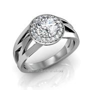 Кольца с бриллиантами D41542-1 фото