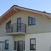 Готовые дома из газобетона фото