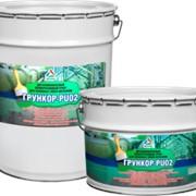 Грункор-PU02 – быстросохнущий двухкомпонентный полиуретановый грунт для металла фото