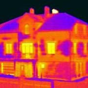 Тепловизионное обследование коттеджа с полным отчетом фото