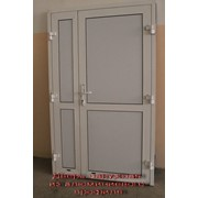 Двери из алюминиевых профилей фото