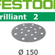Шлифовальные круги FESTOOL BRILLIANT STF D150/16 P100 фото