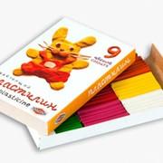 """Пластилин, серия """"Любимые игрушки"""", 9 цветов."""