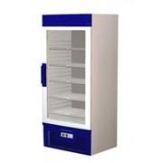 Шкаф холодильный R 700 MSW , прозрачная стенка фото