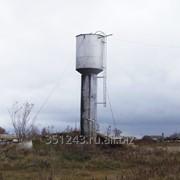 Водонапорные башни и станции повышения давления фото