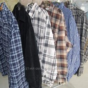 Рубашки мужские фланель OVH FL X секонд хенд Вес 30 кг фото