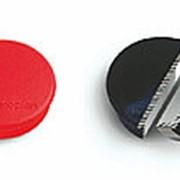 Магниты Magnetoplan Standart, диаметр 30 мм, сила 0,8 кг, 10 шт., красный фото