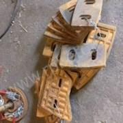 Лопатки центральные бетоносмесителя JS500 фото