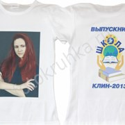 Фото печать на футболках фото