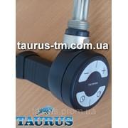 Чёрный ТЭН +регулятор +таймер +маскировка для провода. Для полотенцесушителя электро/комбинированного TERMA MOA MS black фото