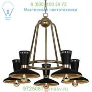 565 Robert Abbey Vortex Chandelier, светильник фото