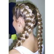 Обучение плетению кос. фото