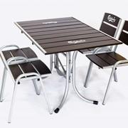 Комплект Стол и 4 стула фото