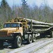 Автопоезд-лесовоз 6911-010 на базе шасси Урал фото