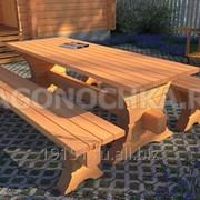 Комплект садовой мебели фото